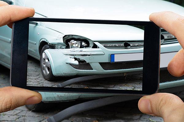 Verkehrsunfall Abwicklung inkl. Versicherung